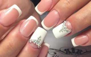Френч на квадратных ногтях: особенности декора и красивые примеры