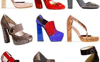 Черные туфли на шпильке: описание с фото, модели