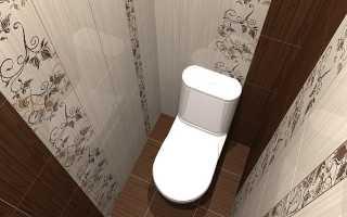 Варианты дизайна туалета в «хрущевке»