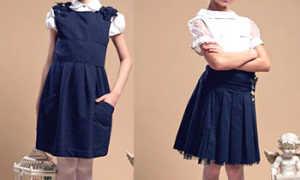 Блузки для девочек для школы: описание с фото, модели, отзывы