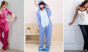 Женская теплая пижама: описание с фото, модели