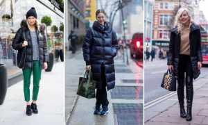 Пальто-пуховик: с чем носить и как выбрать