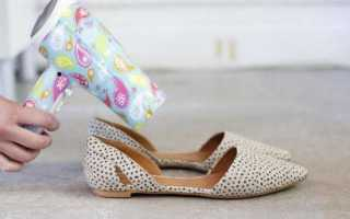 Как разносить туфли из искусственной кожи?