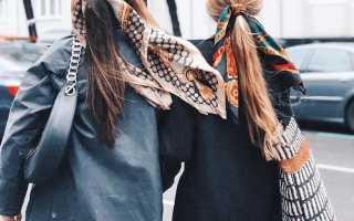 Женская косынка на резинкес чем носить и как выбрать