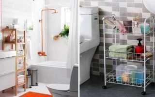 Угловые полки в ванную комнату: разновидности, советы по выбору