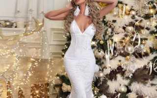 Необычные вечерние платья: с чем носить, фото