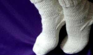 Теплые носки: описание с фото