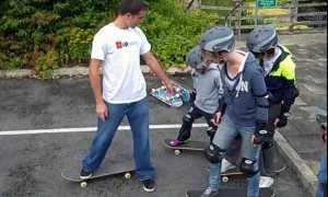Как научиться кататься на скейте?