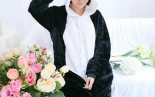 Пижама «Панда»: описание с фото, модели