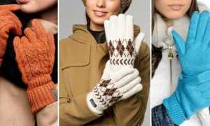 Вязаные перчатки: описание с фото, модели