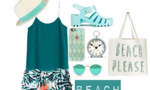 Женские пляжные шорты: как и с чем носить, фото