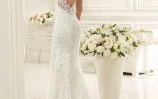 Свадебные платья с закрытым верхом – изысканность и благородство