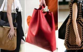 Большие женские сумки: с чем носить, фото