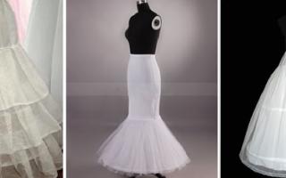 Подъюбник под свадебное платье: фото