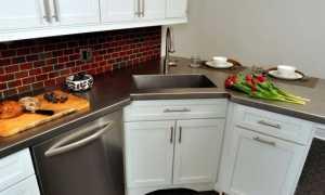 Угловая тумба под мойку для кухни: виды и выбор