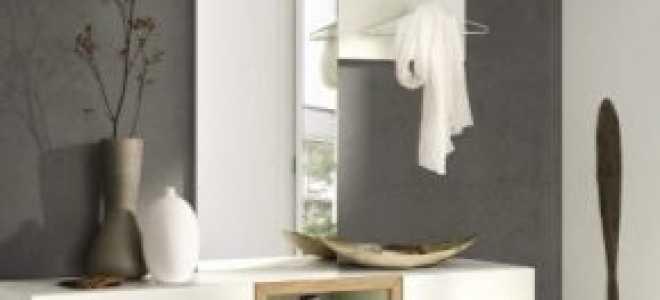 Зеркало с полкой в прихожую: виды и советы по подбору