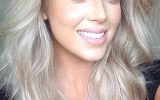 Серый блонд: оттенки, выбор краски и уход