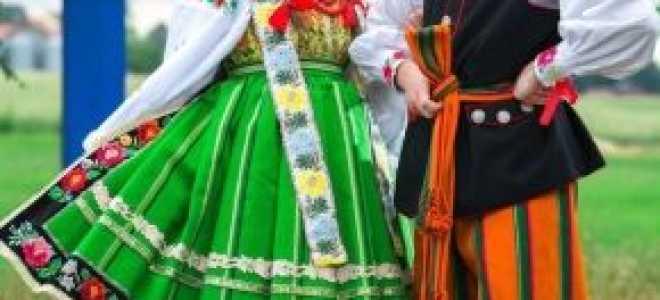 Польский национальный костюм: описание с фото, модели, отзывы