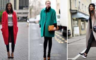 Пальто оверсайз: с чем носить и как выбрать