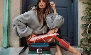 Женские сумки из ткани: с чем носить, фото