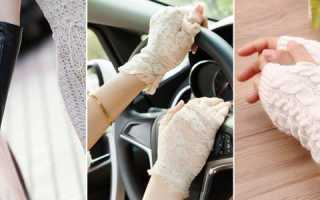 Женские кожаные перчатки без пальцев: описание с фото, модели