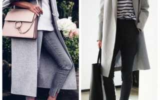 Пальто с кроссовками: с чем носить и как выбрать