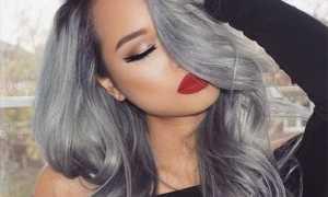 Модное цветное окрашивание волос