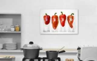 Картины на кухню: как выбрать и где повесить?