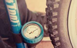 Всё о давлении в шинах велосипеда диаметром 26 дюймов