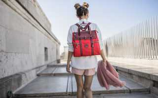 Женская сумка «Рюкзак-трансформер»: с чем носить, фото
