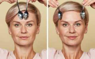 Как сделать массаж лица ложками?