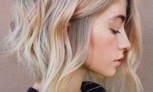 Окрашивание балаяж на волосы с челкой