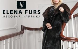 Шубы ELENA FURS: описание с фото, модели