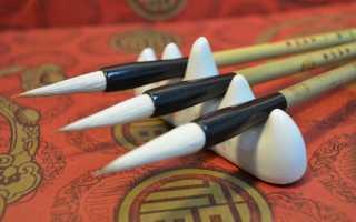 Китайская каллиграфия: история и стили