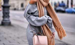 Шарфы: модные тенденции: как и с чем носить, фото