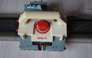 Вязальная машина «Нева-5»: описание, инструкция по экплуатации