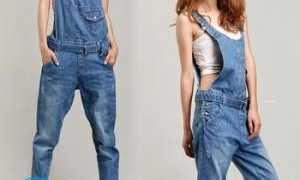 Как сделать комбинезон из старых джинсов своими руками?
