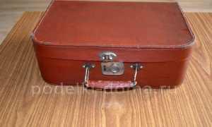 Декупаж чемодана: оригинальные идеи и инструкция по оформлению